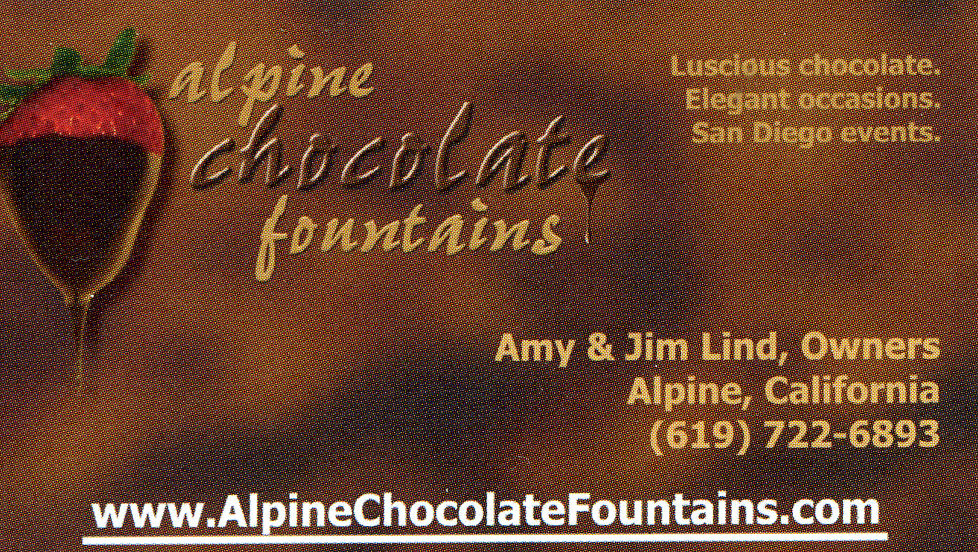 Alpine Chocolate Fountains