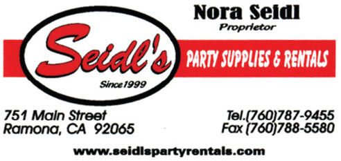 Seidl's Party Supplies & Rental
